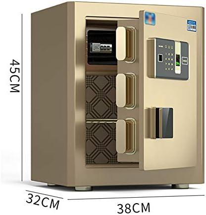 家庭用の安全な小さな25cm / 45cm指紋パスワードボックス、オフィスでのオールスチール盗難防止ステルス壁掛けセーフティボックス