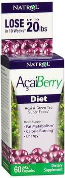 Acai Diet (Natrol Acai Berry Diet)