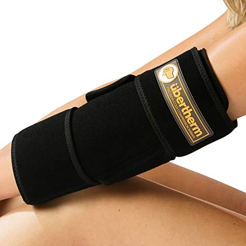 (übertherm Elbow Pain Relief Cold Wrap: Heal Faster, Feel Better. Sting-Free Sports Icing)