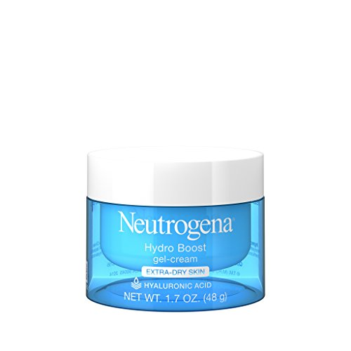 Neutrogena Hydro Boost Hyaluronic Acid Hydrating Face Moisturizer Gel-Cream to Hydrate and Smooth Extra-Dry Skin, 1.7 oz by Neutrogena