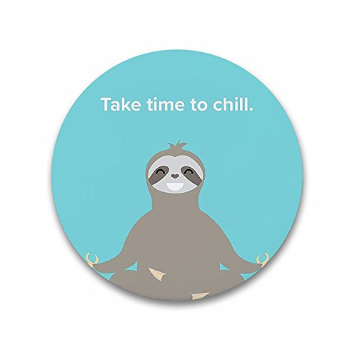 Happiness Refrigerator Magnet - Drinking Beer Bottle Opener Multi-function Refrigerator Magnet - Sloths Happiness Take Time To Chill