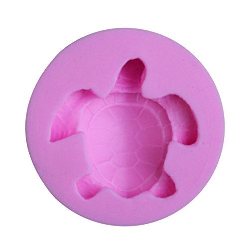 Silicone Candy Fondant Sea Turtle Shaped Chocolate Making Mold Cake Decorating Mould