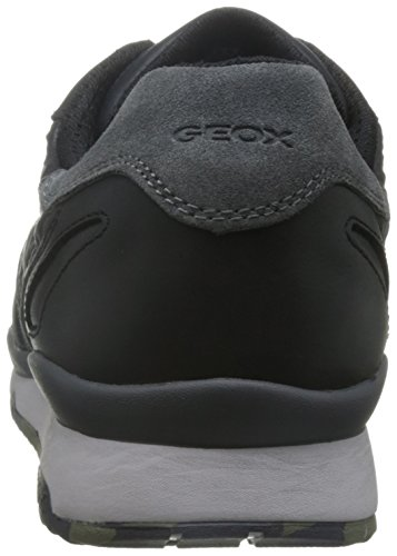 ABX U Zapatillas Geox para B Black Gris Anthracite a Sandford Hombre qW6nntxO