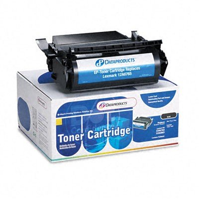 12A6765 Premium Compatible High-Yield Toner Cartridge 30000 Page-Yield, Black 12A6865