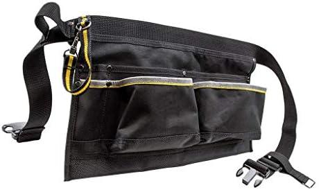 F Fityle 電気技師大工ガーデニング農夫機械工ツールベルトバッグポケット調節可能なウエスト付き