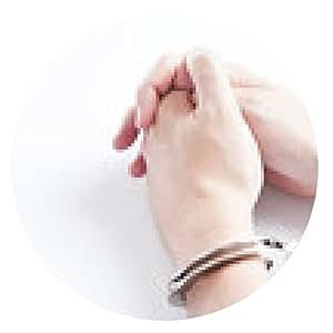 alfombrilla de ratón manos criminales detenidos en manillas - ronda - 20cm