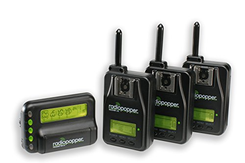 Jr2 Studio Set III Canon - (1) Jr2 Transmitter, (3) Receivers by RadioPopper