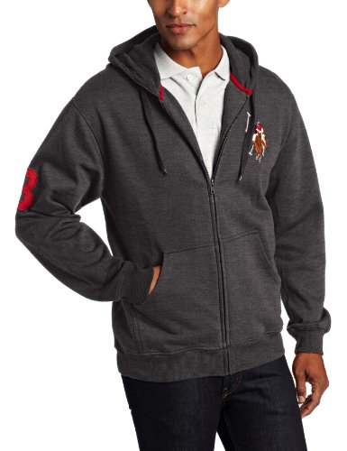 U.S. Polo Assn. Men's Hoody With Multi Color Big Pony