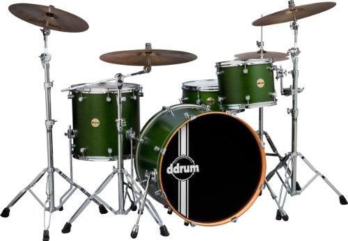 ddrum PMR 424 ZG Paladin Maple Rock Drum Kit, Zombie Green Satin
