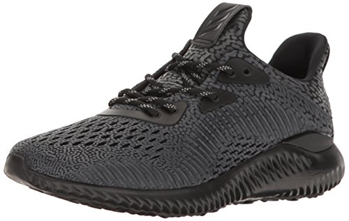 adidas Performance Women's Alphabounce Ams w Running Shoe, Black/Utility Black/White, 8 M US