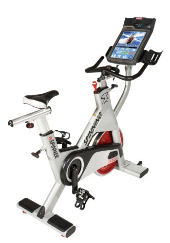 Spinner eSpin Commercial Spin Bike by Mad Dogg Featuring One Million Customizable Rides
