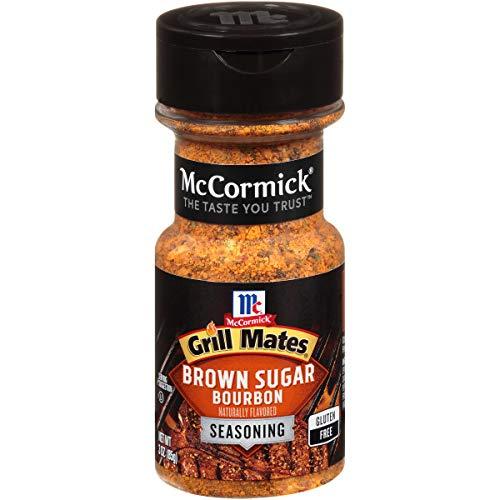 McCormick Grill Mates Brown Sugar Bourbon Seasoning, 3 oz ()