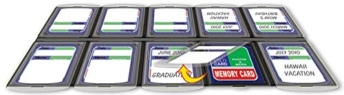 Pioneer Photo Albums MC010 SD Memory Card Organizer 10 Compartment ()