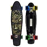 Merkapa Complete 22 inch Cruiser Skateboard for Youth, Beginners (Green)