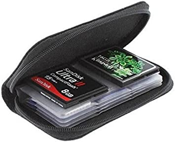 Duneen Memory Card Storage Carrying Pouch Case Holder for CF//SD//SDHC//MS//DS Memory Card Cases