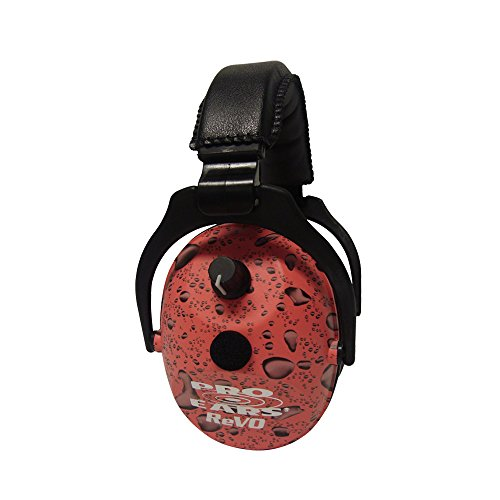 Protection Amplification Hearing Zombie Pink and NRR 25 Youth Ears Electronic and Muffs ReVO Rain Women Pro Ear YTIxpw