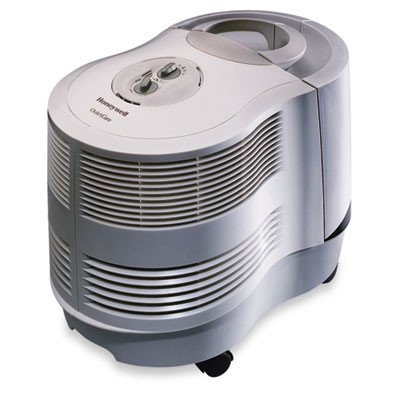Console 3.4 Gal. Humidifier Warm Mist Black
