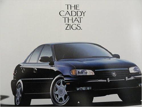 Original 1997 Cadillac Catera Sales Brochure Cadillac Amazon Com