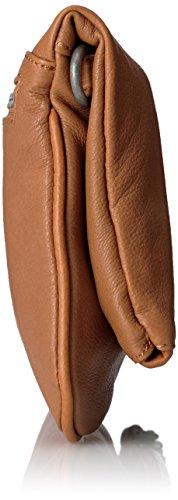 Liebeskind Aloe bolso bandolera piel 28 cm Marrón (Cognac 0006)