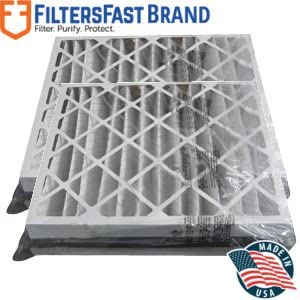 Nordic Pure 8x14x1 Exact MERV 8 Pure Carbon Pleated Odor Reduction AC Furnace Air Filters 2 Pack