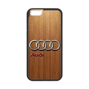 iPhone 6 Plus 5.5 Inch Custom Cell Phone Case Audi Car Logo Case Cover 2WFF34796