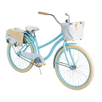 "Huffy 26"" Marietta Women's Cruiser Bike with Perfect Fit Frame, Blue"