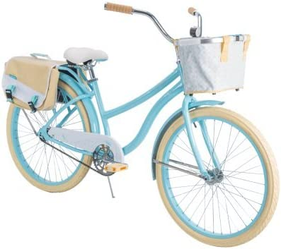 "Womens Nel Lusso Cruiser Bike with Perfect Fit Frame Huffy 26/"" Blue"