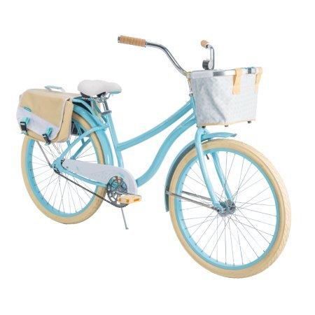 Huffy 26 Marietta Women s Cruiser Bike Frame, Blue
