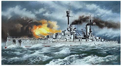 ICM Models Battleship SMS Kronprinz Building Kit