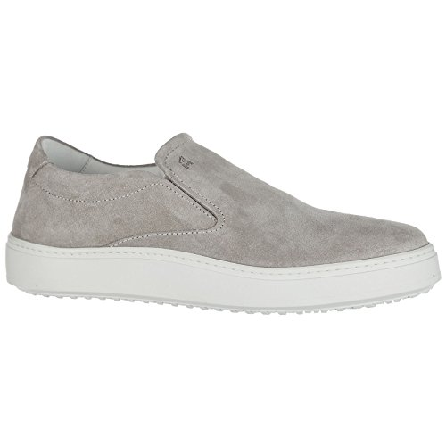 Sneakers Suede Grey Hogan on Men's h302 Slip wznf6IaqZ