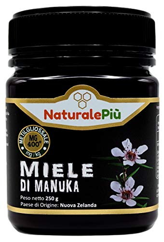 Manuka Honing 400+ MGO 250 gram. Geproduceerd in Nieuw-Zeeland, actief en rauw, 100% zuiver en natuurlijk. Getest op…