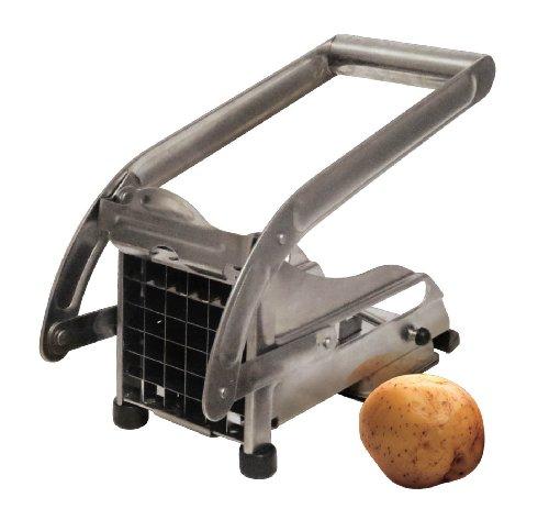 Grunwerg Stainless Steel Potato Chipper For Homemade Chips/Fries - (Homemade Potato Chips)