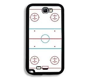 Houseofcases Ice Hockey Rink Samsung Galaxy Note 2 Note II N7100 Case - Fits Samsung Galaxy Note 2 Note II N7100