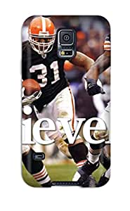 Excellent Design Clevelandrowns Case Cover For Galaxy S5