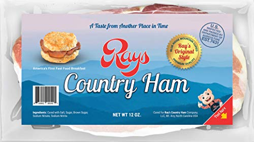 Rays Country Ham - 2 1/4 lb. 3-Pack - Blue Ridge Mountain ()