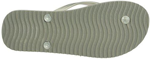 Flint Femme Sandales Original Spots flop Grey 059 Ouvert Grau Bout Gris flip q5FwztY5