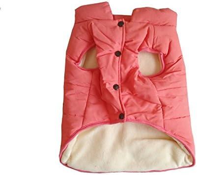 PENIVO Ropa de perro Abrigos y chaquetas abrigados de invierno, Chaleco de perro cachorro Ropa para perros pequeños medianos Perros Ropa de plumas