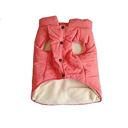 Puppy Dog Vest Apparel for Small Medium Large Dogs Feather clothes L, Green PENIVO Dog Clothes Winter Warm Coats and Jackets
