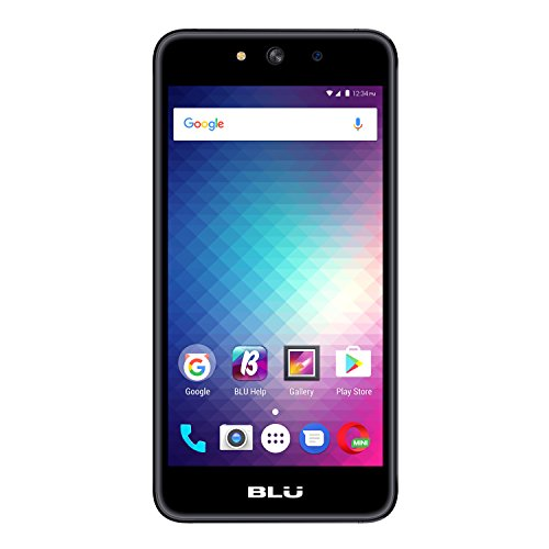 BLU Grand M G070Q Unlocked GSM Quad-Core Dual-SIM Phone - Black by BLU