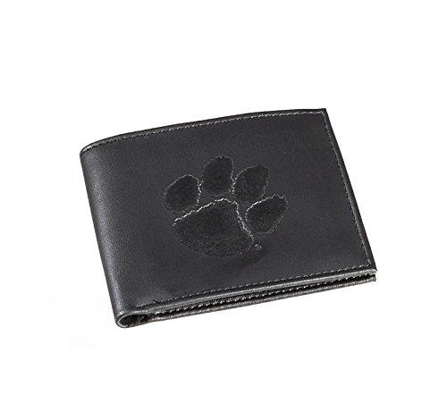 Team Sports America Leather Clemson Tigers Bi-fold Wallet