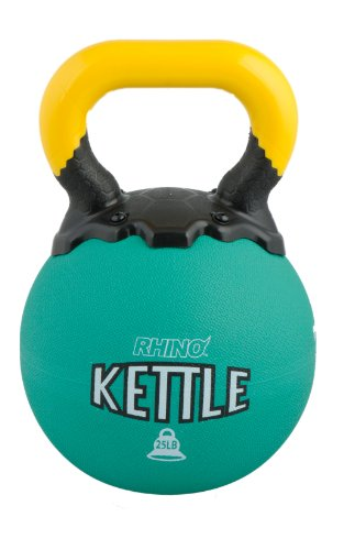 Champion Sports Rhino Kettle Bell Weights, 25-Pound by Champion Sports