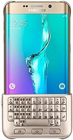 SAMSUNG CG928MFEGDE QWERTY Inglés Oro Teclado para móvil - Teclados para móviles (Oro, Galaxy S6 Edge+, QWERTY, Inglés, Android 4.4)