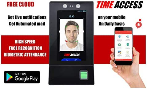 SBJ Time Access FP 09 is a Multi biometric Dynamic face