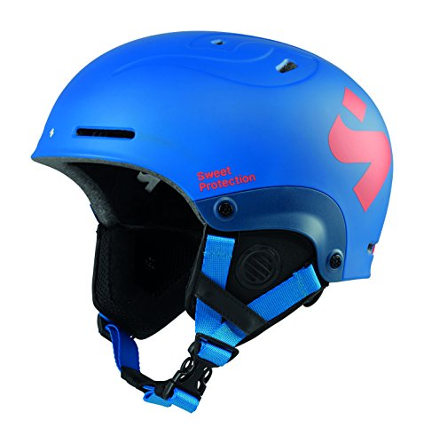 Sweet Protection Blaster II JR Kids Ski and Snowboard Helmet (Matte Flash Blue, Medium/Large)
