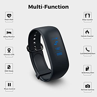 Fitness Tracker,Fitness Tracker Z8 Activity Wristband: Sleep Monitor Bluetooth Fitness Integrated Wristband Bracelet, Waterproof Activity Tracker for Android & iOS