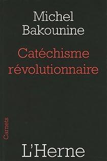 Catéchisme révolutionnaire par Bakounine