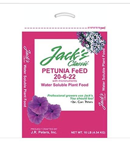 Jack's Classic 10lb Petunia Feed 20-6-23 10 Pound Bag