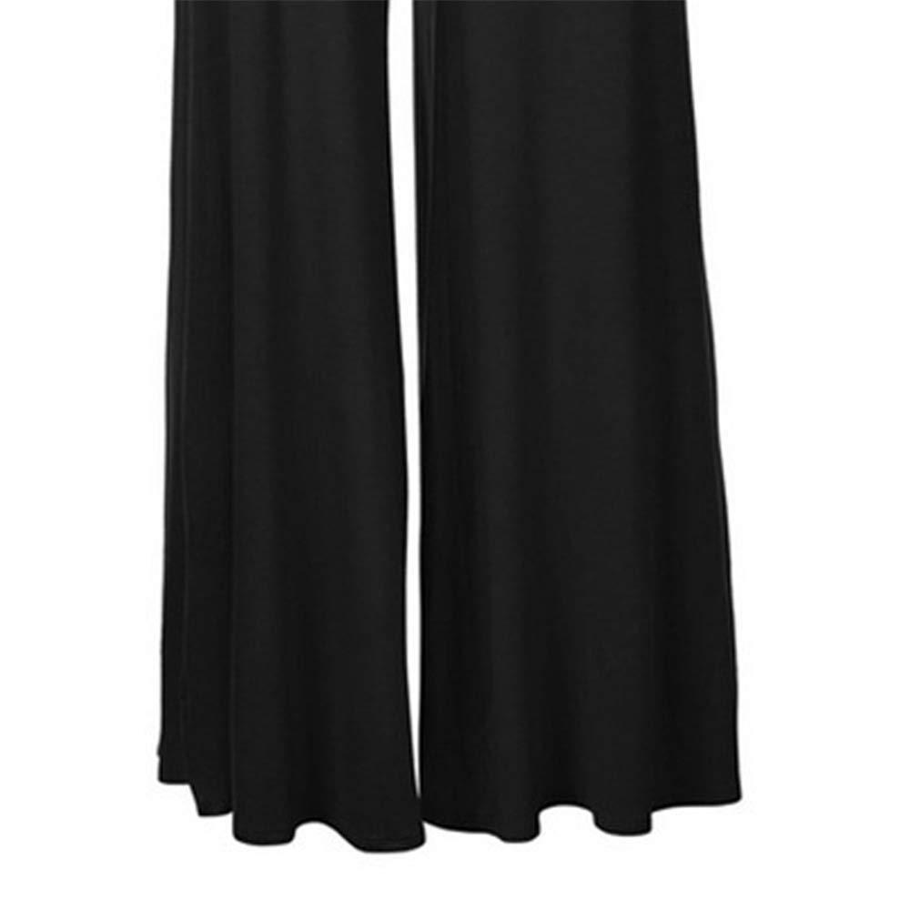 Gogogo Femme Pantalon /à Taille Haute Casual Pantalon /à Pattes d?/él/éphant /à la Mode
