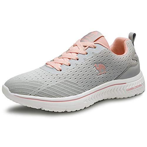 Camel Running Shoes Women Breathable Casual Sne...