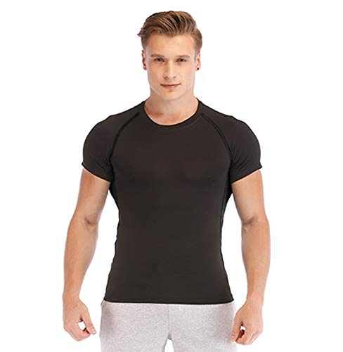 MORECOO Compression Shirts Sleeve Workout product image
